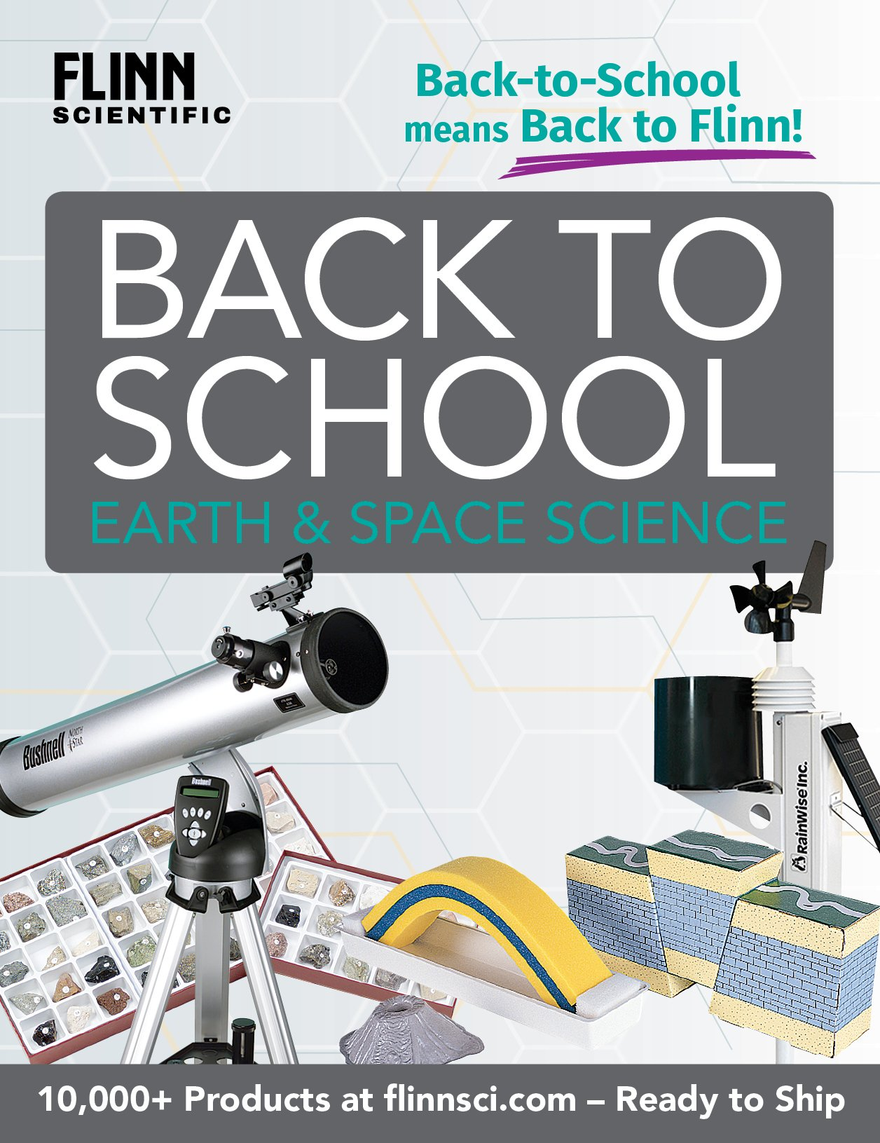 Back to School MS Earth and Space Science Mini Catalog 2018