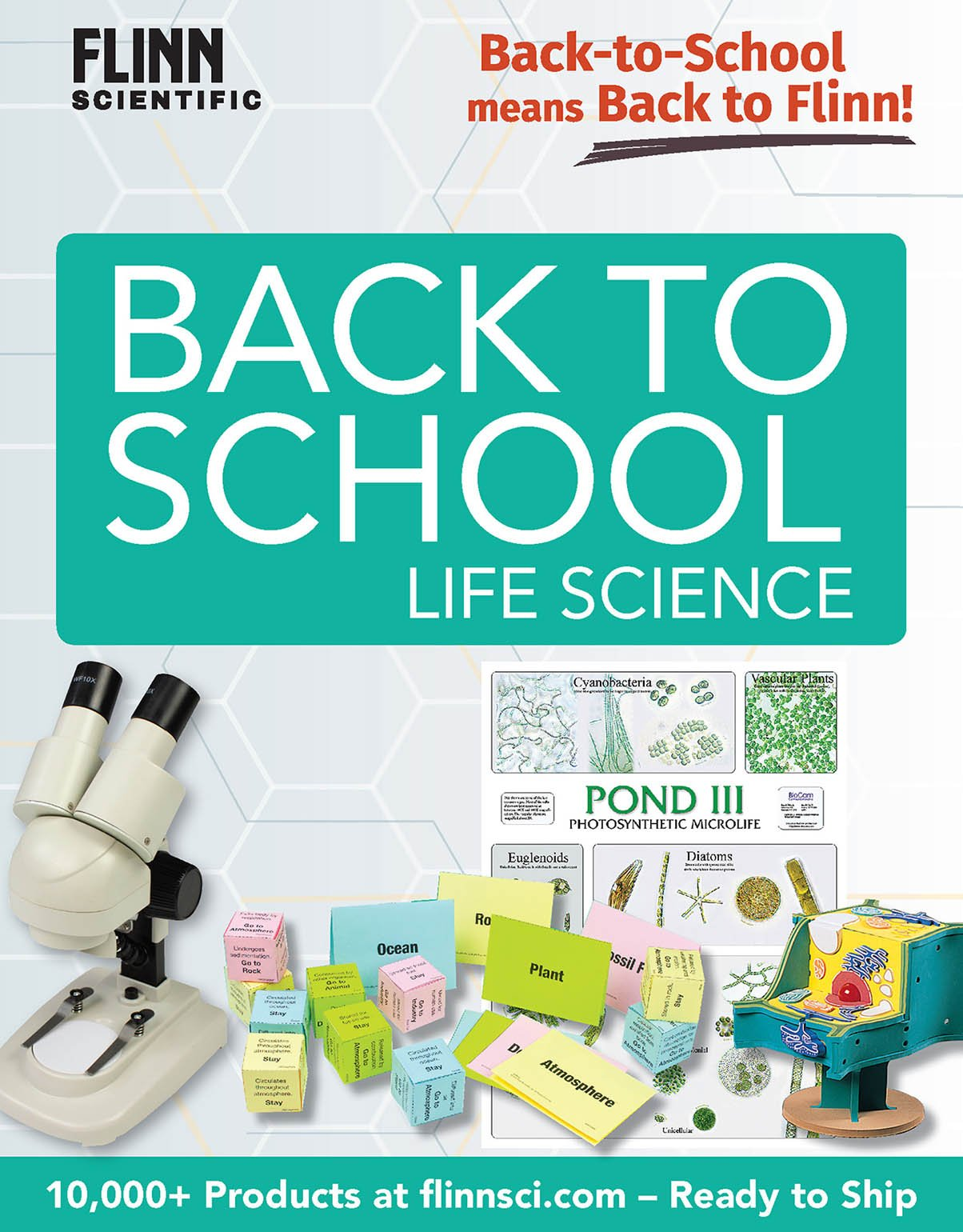 Back to School MS Life Science Mini Catalog 2018
