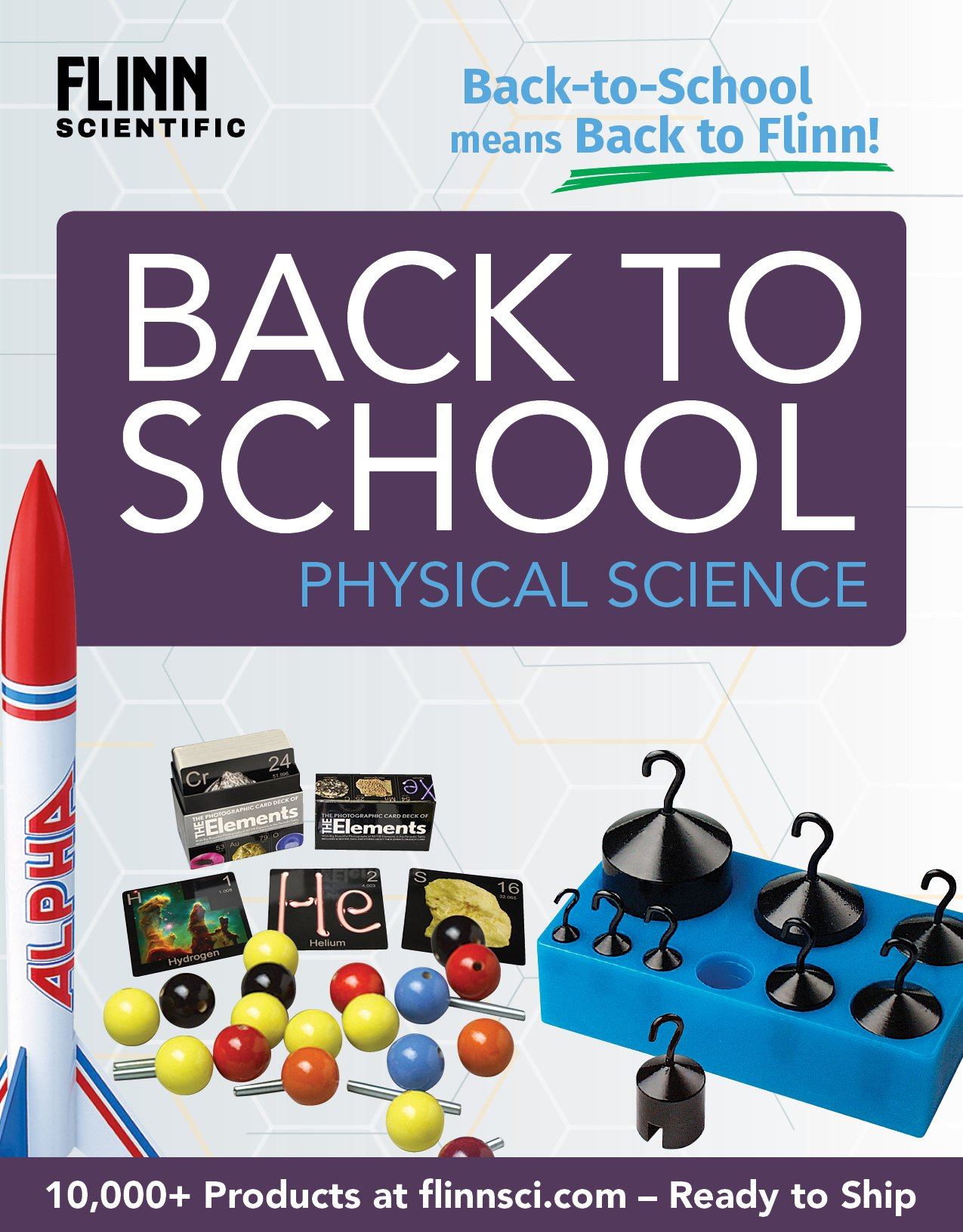 Back to School MS Physical Science Mini Catalog 2018