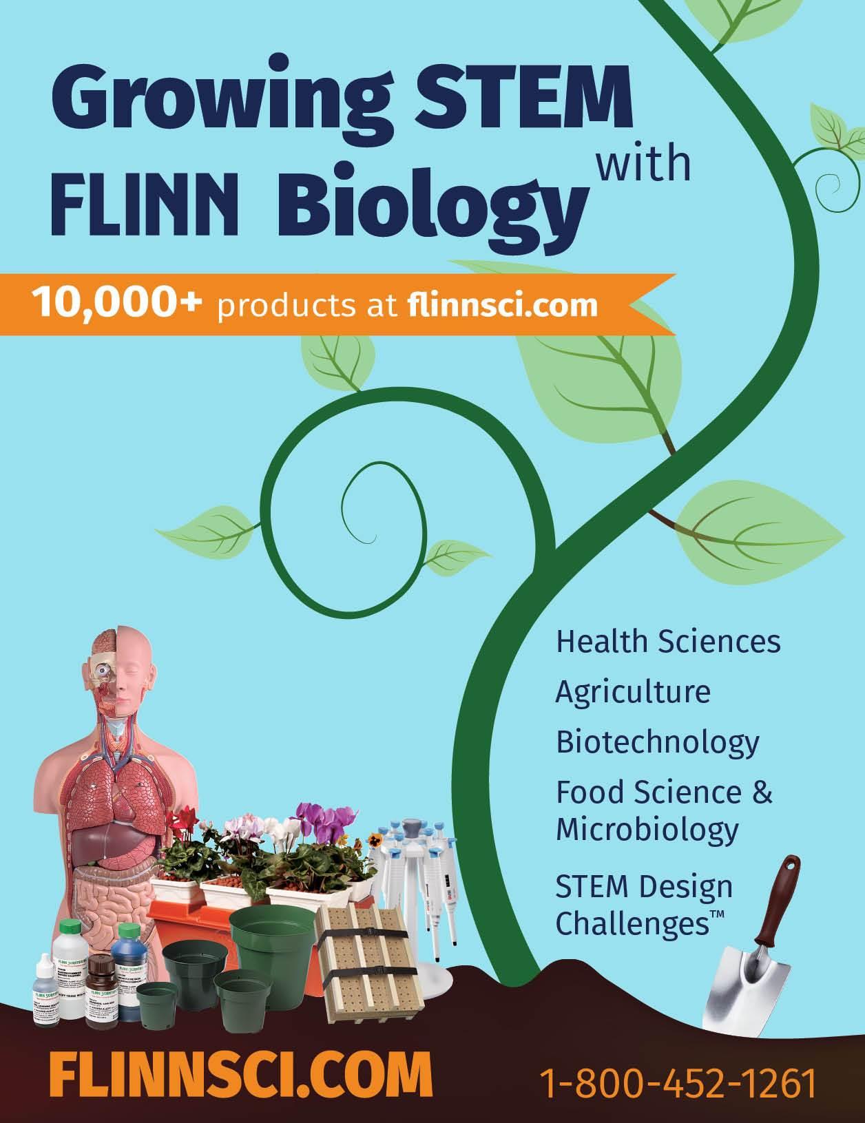 Growing STEM with Flinn Biology Mini Catalog