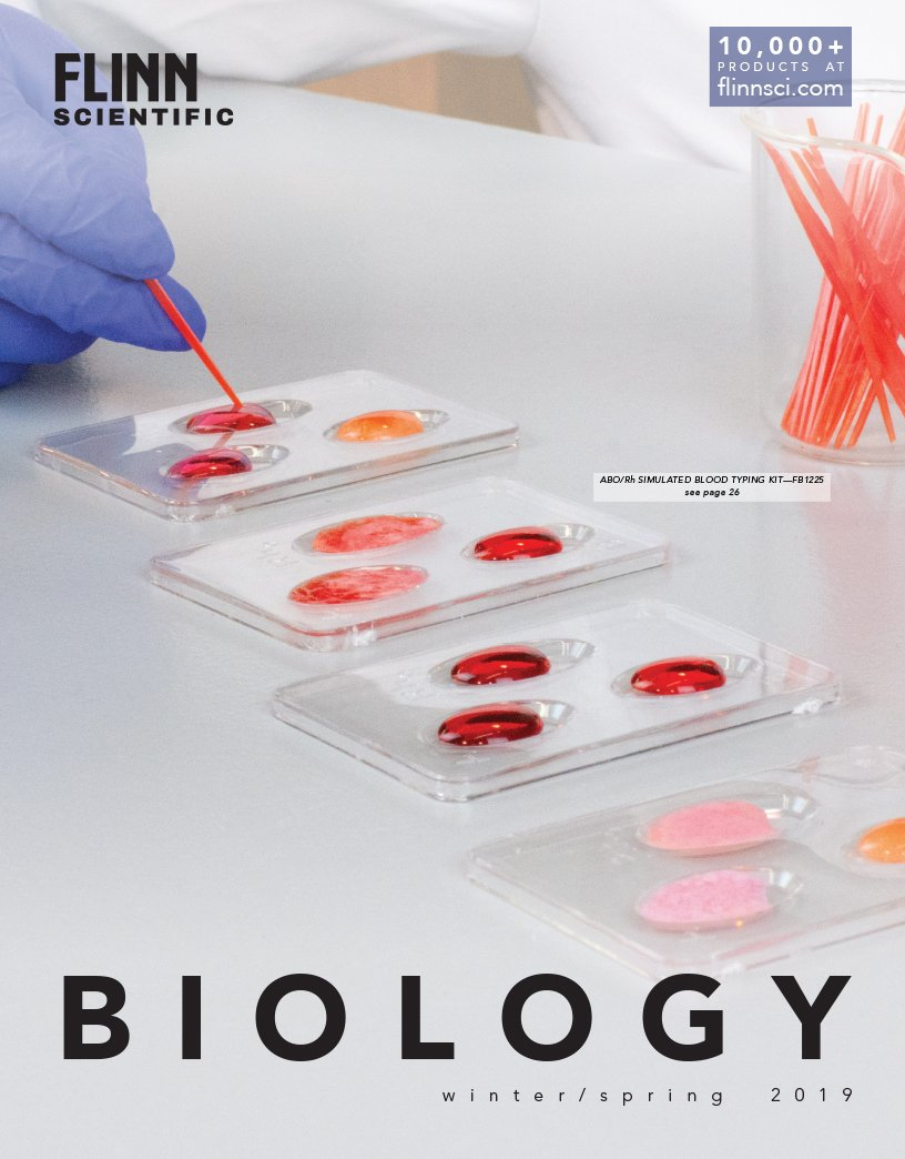 HS Biology Mini Catalog 2019
