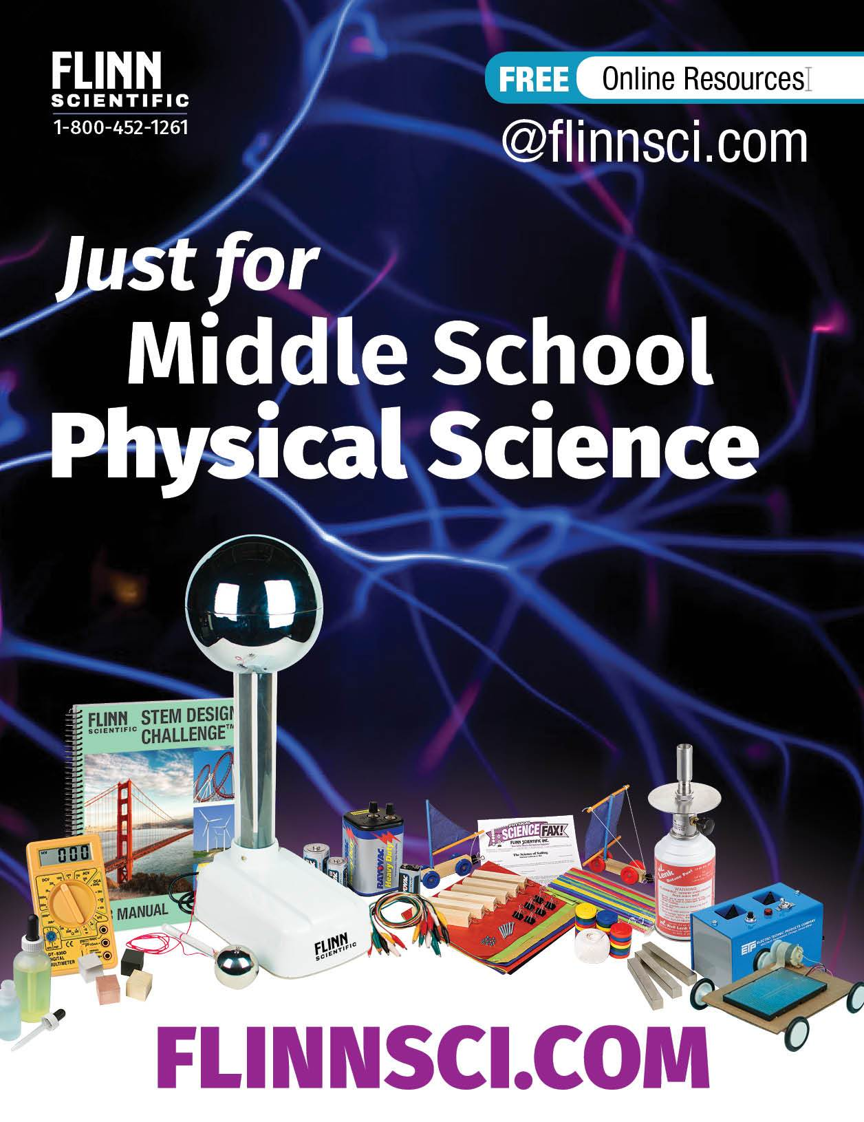 Just for Middle School Physical Science Mini Catalog