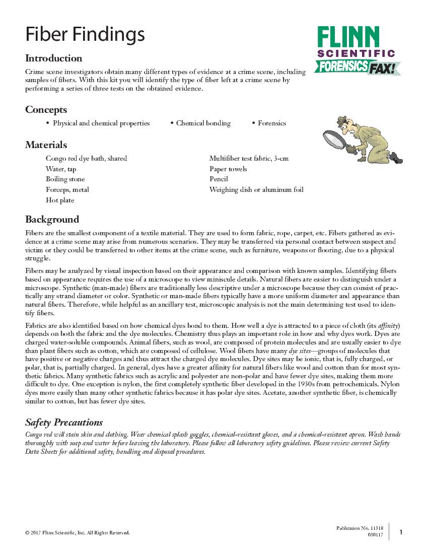 firewatch Array - student lab activities rh flinnsci com