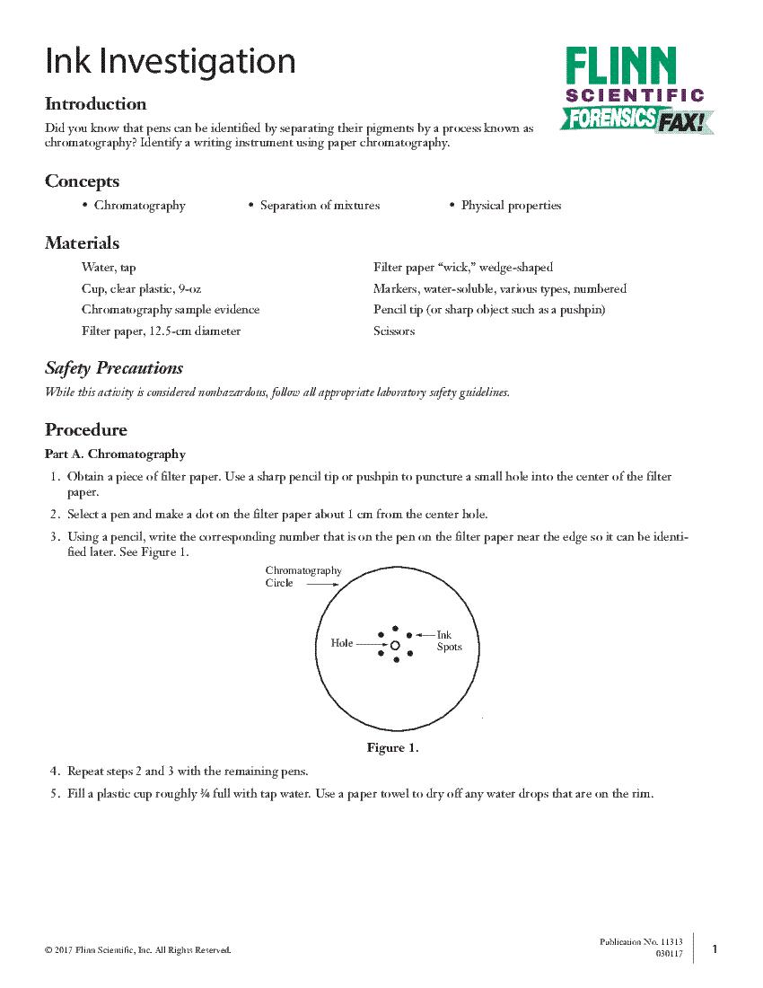 worksheet Ballistics Worksheet student lab activities alternate text